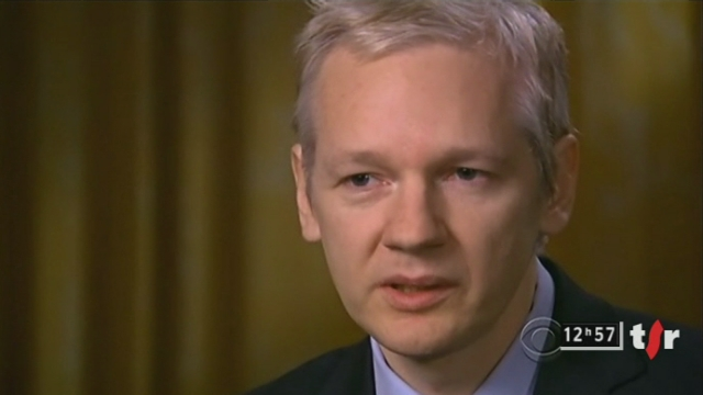 "Wikileaks: Julian Assange menace de diffuser un ""déluge"" de documents non publiés"
