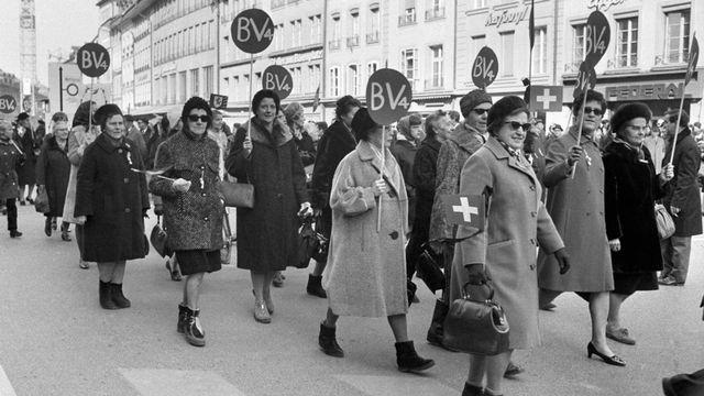 Suffragettes [Widmer - Keystone]