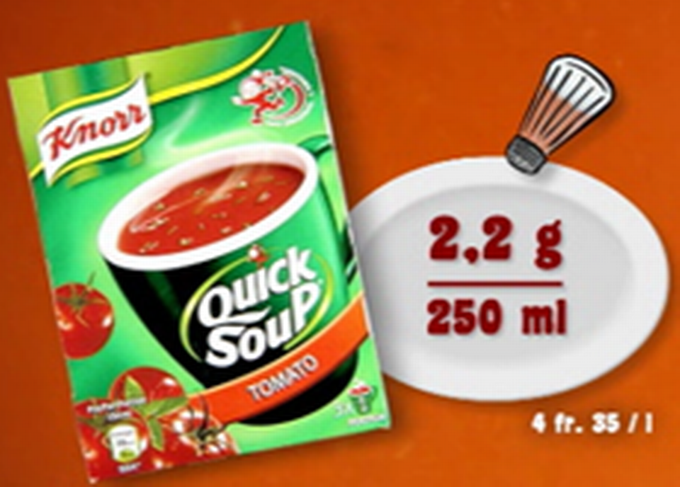 Knorr poudre