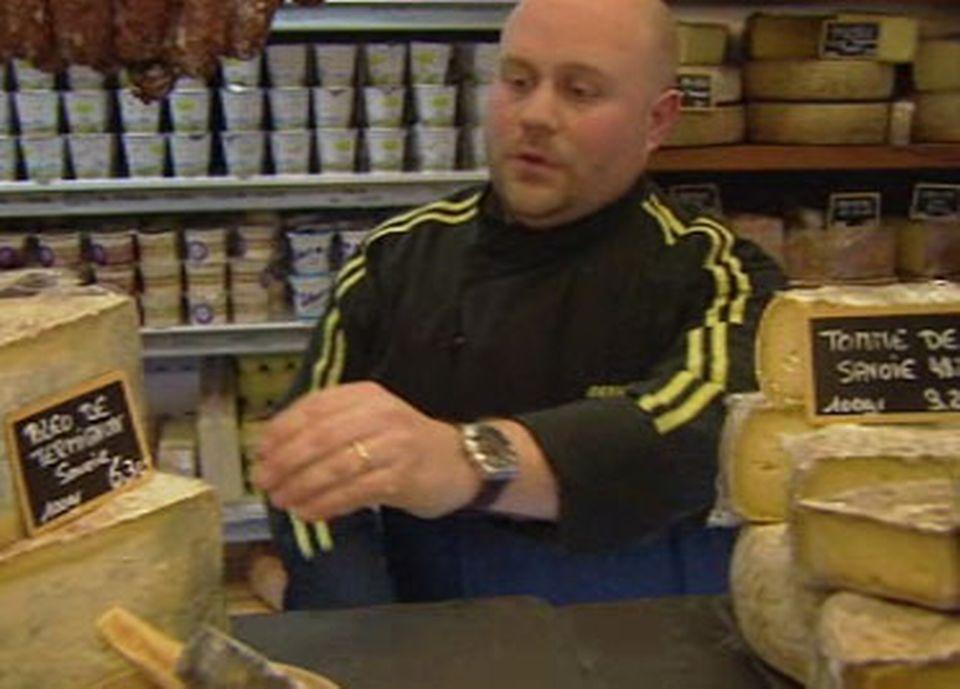 A Genève, Dominique Ryser vend essentiellement du fromage à base de lait cru.