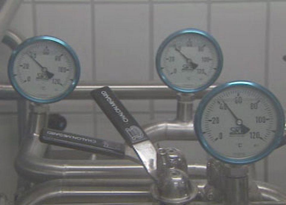 La thermisation du lait à haute température permet d'éliminer les bactéries.