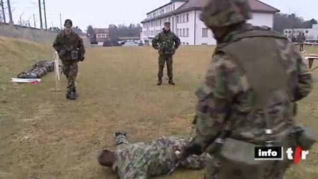 Suisse: l'armée fait de plus en plus appel à des entreprises de sécurité