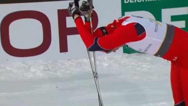 Ski nordique / Mondiaux d'Oslo: Une 1/2 finale très difficile pour Dario Cologna qui termine à la 5e place et est donc éliminée