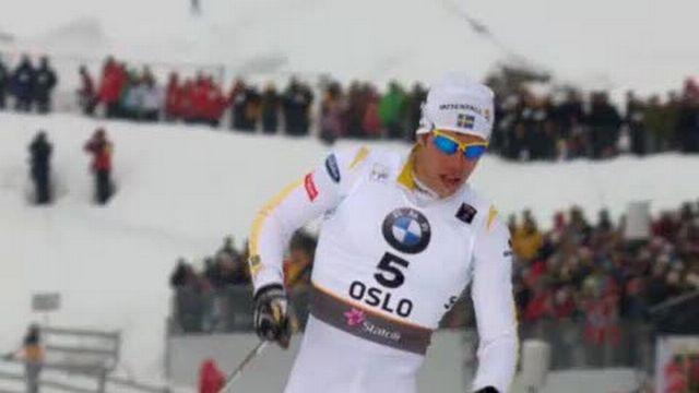 Ski nordique / Mondiaux d'Oslo: Martin Jaeger (SUI) s'est battu comme un diable mais malheureusement il casse un bâton et ne peut plus rivaliser dans sa 1/2 finale