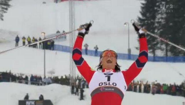 Ski nordique / Mondiaux d'Oslo: La finale du sprint dames revient à la grande favorite Marit Bjoergen (NOR)