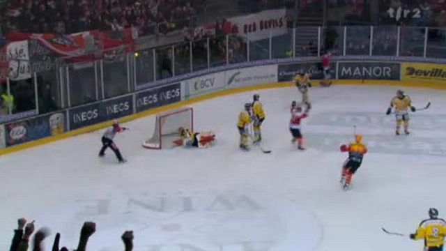 Hockey / LNB (Playoff): résumé du match Lausanne - Ajoie (6 - 2)