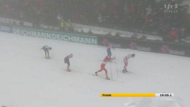 Ski nordique / Mondiaux d'Oslo (Holmenkollen): sprint par équipe. La sensation: le Canada (Alex Harvey/Devon Kershaw) devance la Norvège et la Russie in extremis