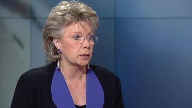 Viviane Reding: «C'est une bonne chose que les crapules comprennent qu'il n'y a plus d'immunité.»