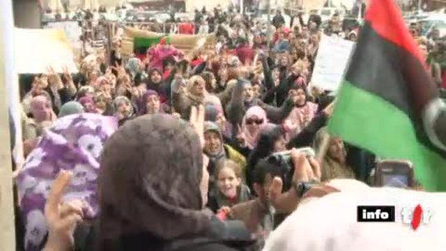 Libye: les femmes sont très actives dans le mouvement de contestation