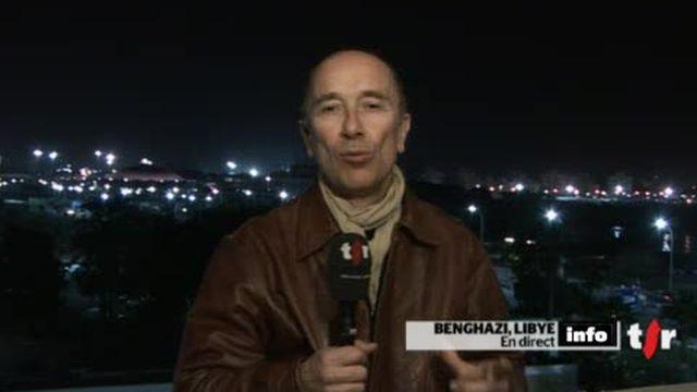 Libye: le point avec Yves Magat, en direct de Benghazi