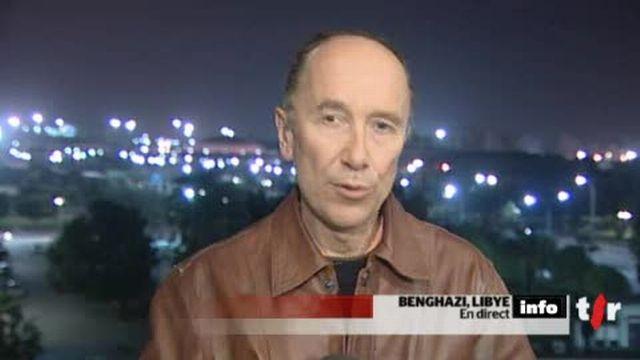 Libye: le point sur la situation avec Yves Magat, en direct de Benghazi