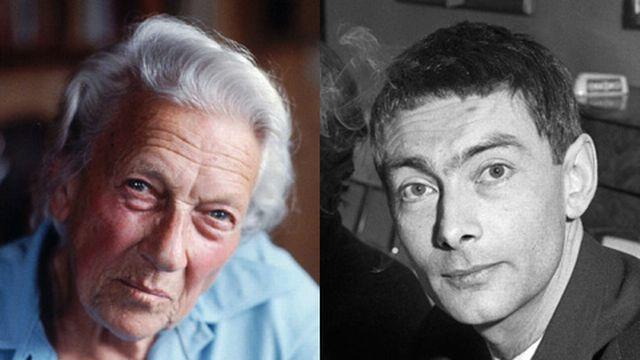 Ella Maillart (1903-1997) - Nicolas Bouvier (1929-1998) [Keystone]