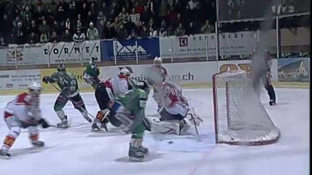 Hockey / Playoff LNB (1/2 finale, acte 5): Olten - Lausanne (3-2) + résultats