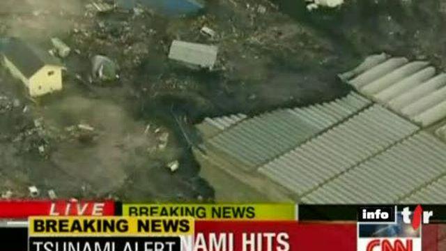 Séisme au large du Japon: un violent tsunami a frappé le nord du pays