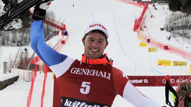 Beat Feuz a réussi la course parfaite sur la piste de Kvitfjell. [Alessandro Trovati  - Keystone]