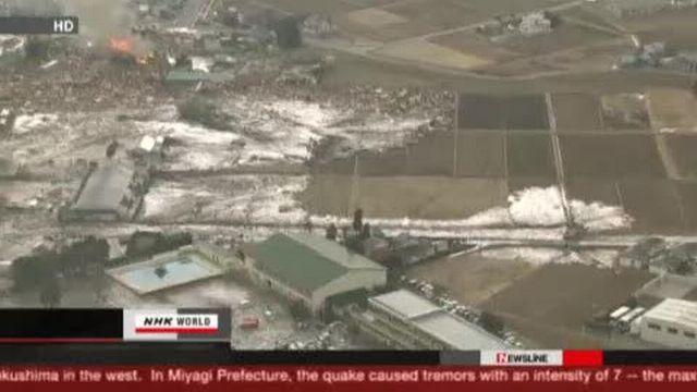 Séisme et tsunami au Japon