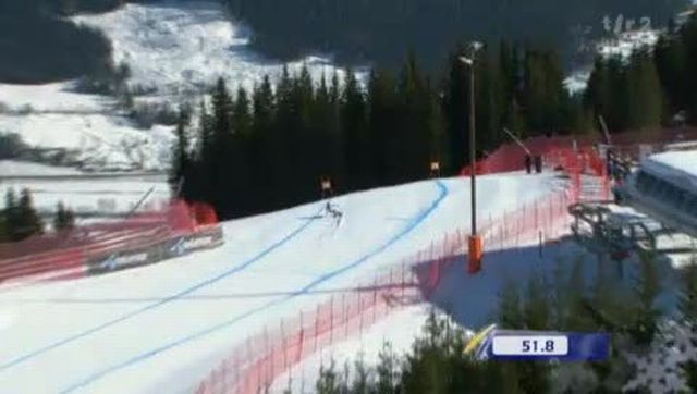 Ski alpin / Descente de dimanche / Kvitfjell (NOR): Didier Cuche échoue encore en Norvège.