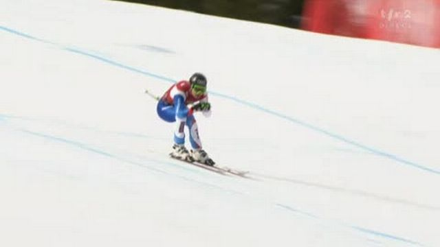 Ski alpin / Super G / Kvitfjell (NOR): Belle performance de Patrick Kueng...