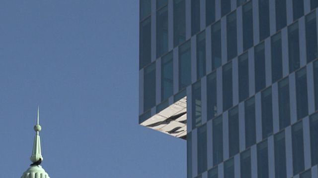 Un nouveau regard - La tour RTS, Genève