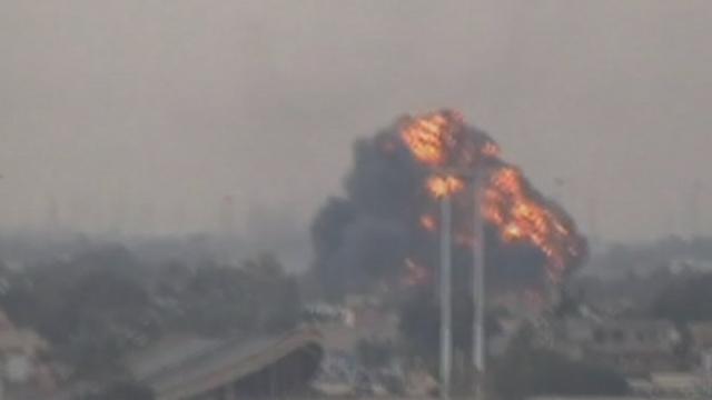 Séquences choisies - Avion de combat libyen abattu