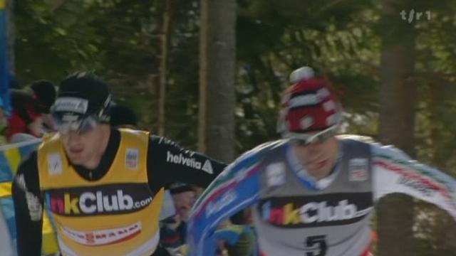 Ski nordique / Coupe du Monde de Falun: 3ème place pour Dario Cologna