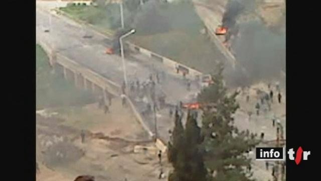 Syrie: des milliers de manifestants sont descendus dans la rue dimanche dans plusieurs villes du pays
