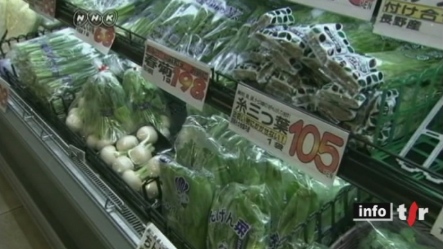 Accident nucléaire à Fukushima: les autorités ont pris de nouvelles mesures sanitaires liées à la consommation de l'eau du robinet et de nombreux légumes provenant des zones sinistrées ont été interdit de vente