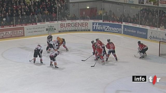 Hockey / LNB (playoff finale): Lausanne n'a pas gagné le match de la dernière chance face à Viège qui lui aurait permis d'accéder en LNA