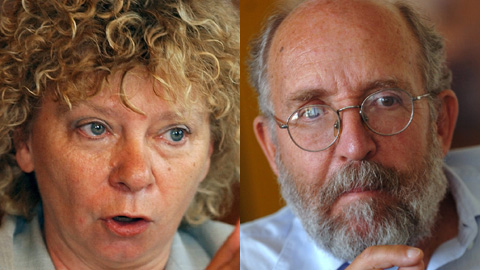 Christiane Brunner (1947 - ...), Michel Mayor (1942 - ...)
