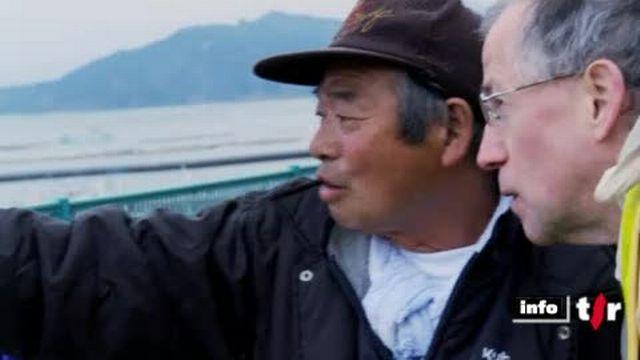 Japon: reportage dans la baie de Yamada où après le séisme et le tsunami, les pêcheurs n'ont plus que la mer pour tenter de survivre