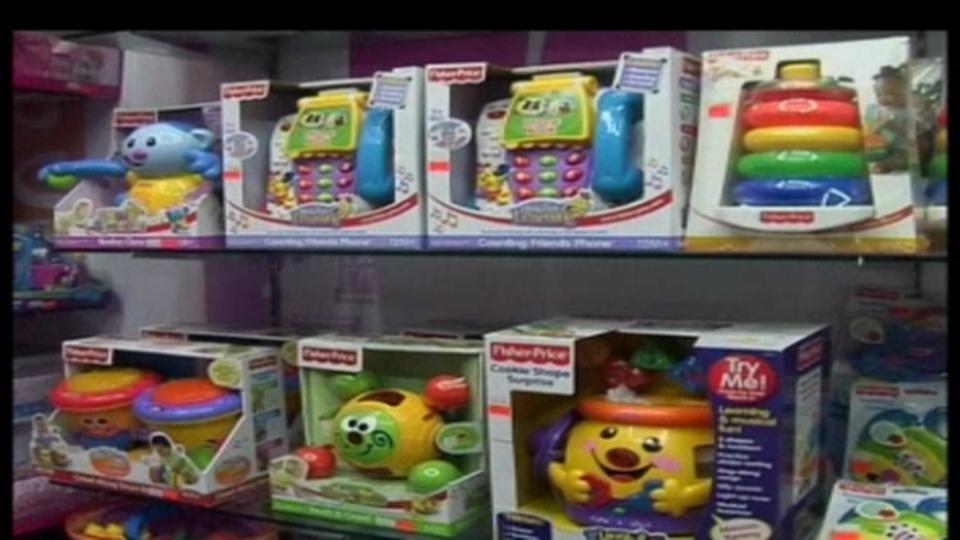 Mattel et Fischer Price doivent rappeler des millions de jouets