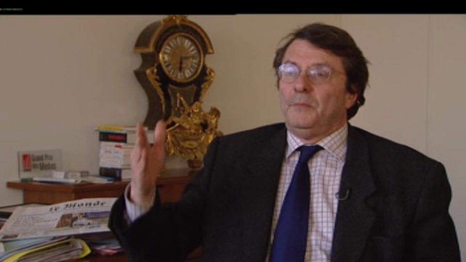 Erik Izraelewicz, directeur du journal Le Monde