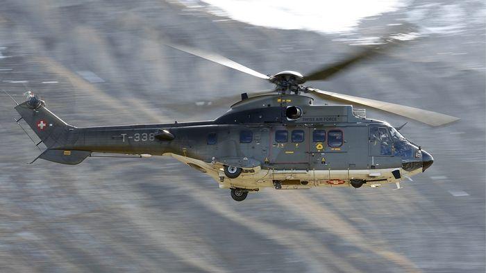 Blessés Suisse ch Dans Le D'un Rts Trois Hélicoptère Militaire Crash X80wPkOn