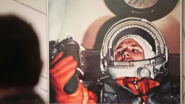 YOURI GAGARINE : Premier homme dans l'espace [RTS]