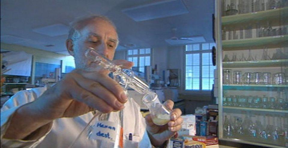 Dr Koni Grob laboratoire cantonal de Zurich