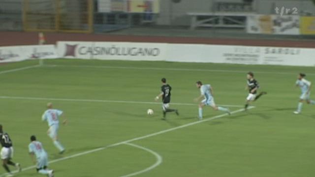 Football / Challenge League (24e j): Lugano – Stade Nyonnais (1 - 2)
