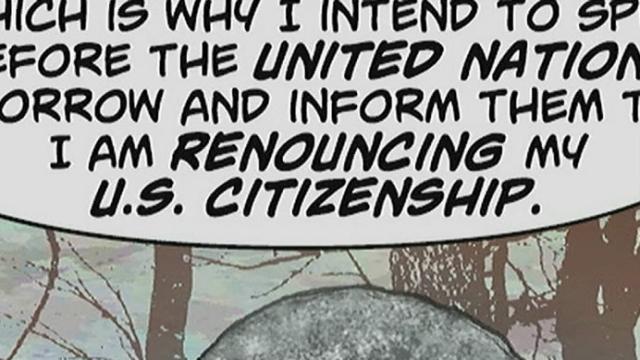 Superman ne veut plus être Américain