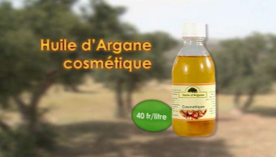 Huile d'Argane cosmétique