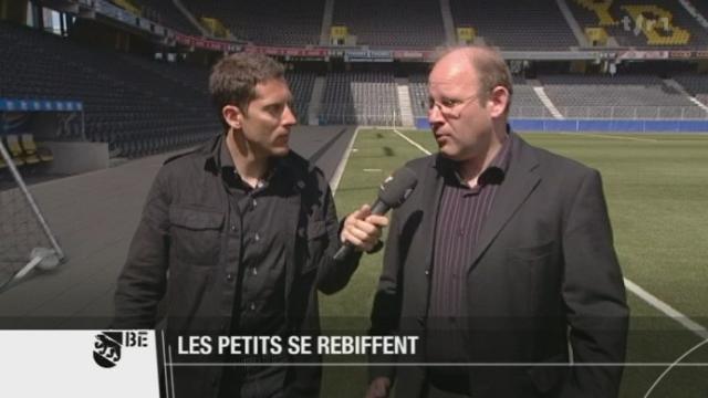 Football: Gilles Froidevaux, président du club jurassien SR Delémont, s'oppose à la réforme de la Challenge League