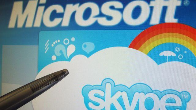 Skype deviendra le nouveau système de messagerie instantanée de Microsoft. [Franz-Peter Tschauner  - Keystone]