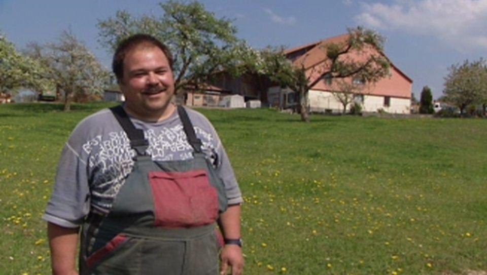 Frédéric Dumas, agriculteur
