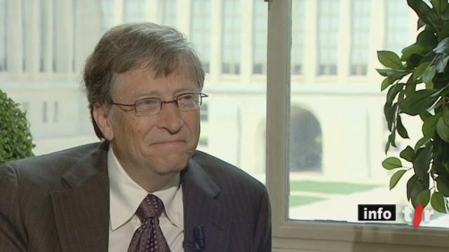 Interview de Bill Gates, co-président de The Bill & Melinda Gates Foundation