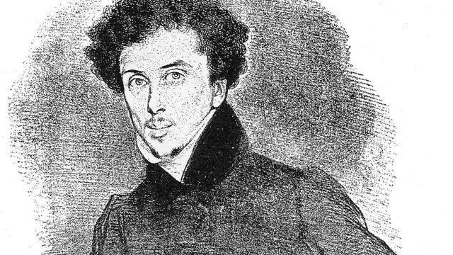 Alexandre Dumas vers 1832. [Wikipédia]