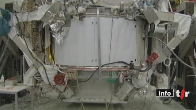 La navette américaine Endeavour a décollé avec à son bord un spectromètre magnétique mis au point par l'Université de Genève
