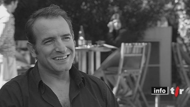 Festival de Cannes:Jean Dujardin présente un film muet noir-blanc dont l'action se situe dans les années 20