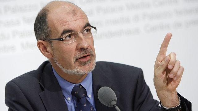 Jacques Bourgeois, conseiller national PLR (FR). [Peter Klaunzer - Keystone]