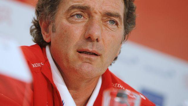 Michel Pont, entraîneur assistant de la sélection suisse de football. [Eddy Risch. - Keystone]