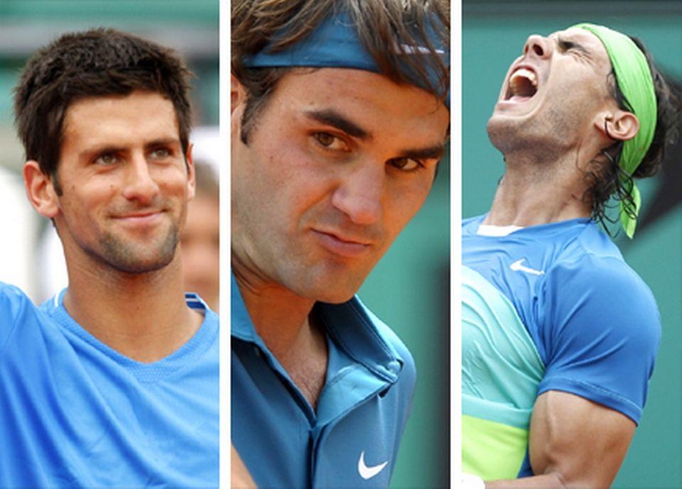 Nole, Federer ou Rafa pour Roland Garros 2011? [Keystone]