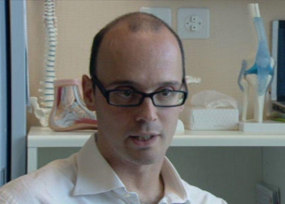 Boris Gojanovic chef de clinique de medecine du sport au CHUV