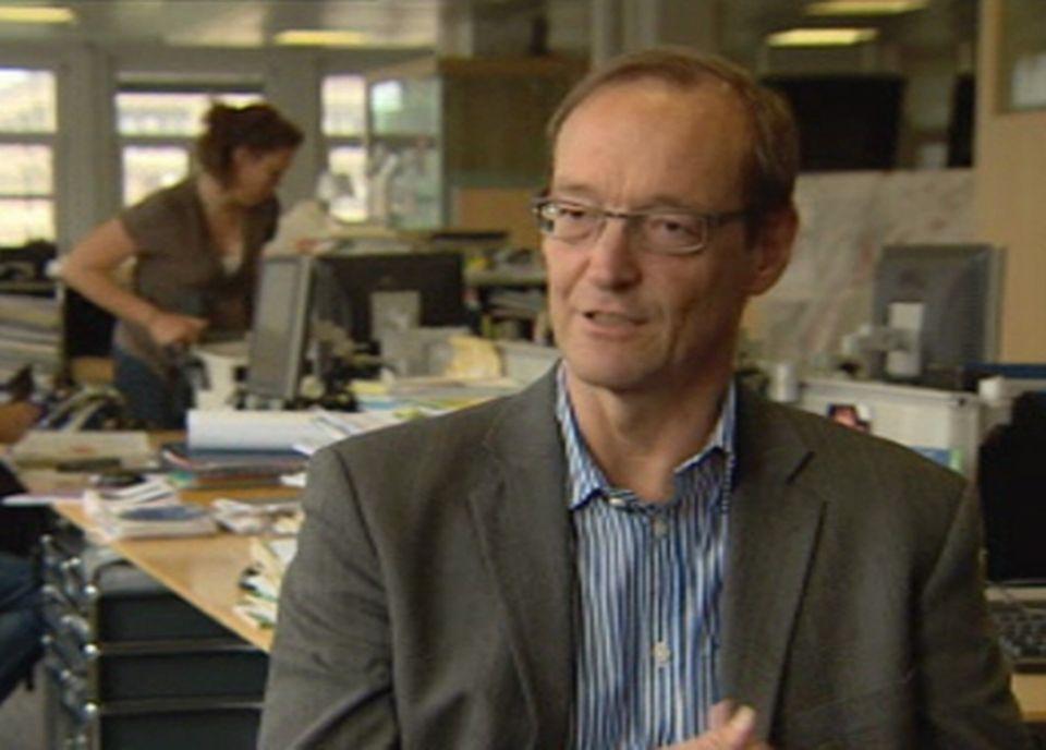 Pierre Ruetschi, Tribune de Genève